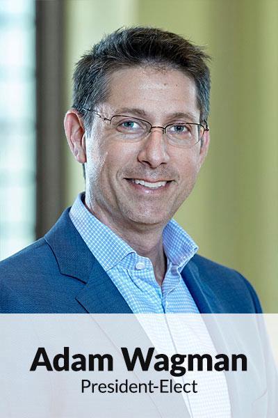 Portrait photo of Adam Wagman, President-Elect