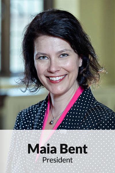 Portrait photo of Maia Bent, President