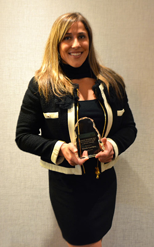 Nicole Corriero - Martin Wunder, Q.C. Outstanding New Lawyer Award