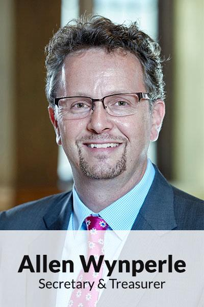 Portrait photo of Allen Wynperle, Secretary & Treasurer
