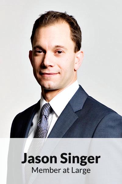 Portrait photo of Jason Singer, Member at Large