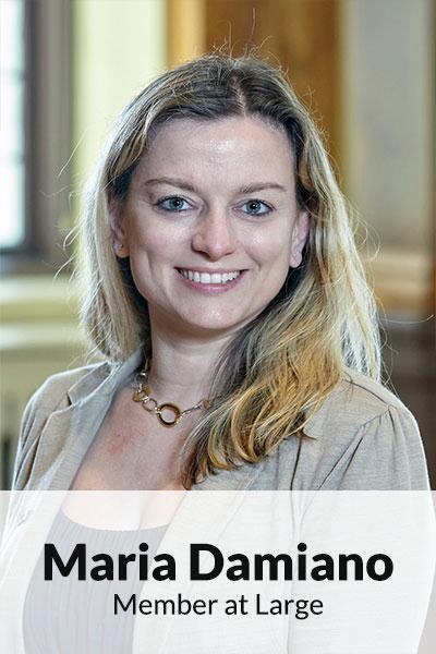 Portrait photo of Maria Damiano, Member at Large