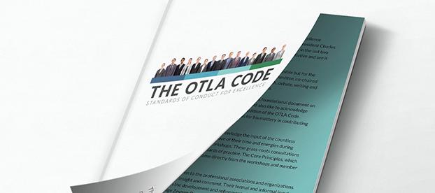 A graphic representation of the OTLA Code booklet